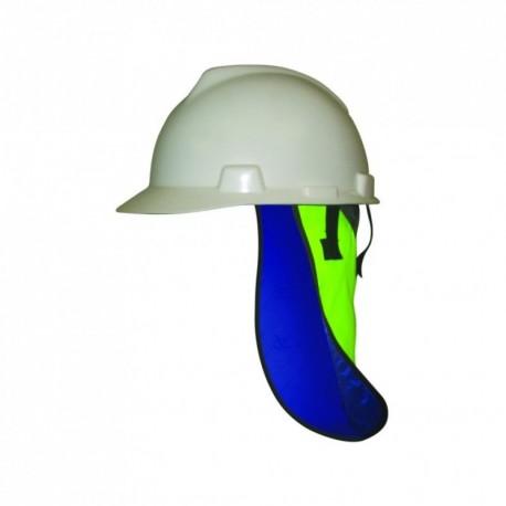 Tête et Protège-nuque rafraîchissant pour casque