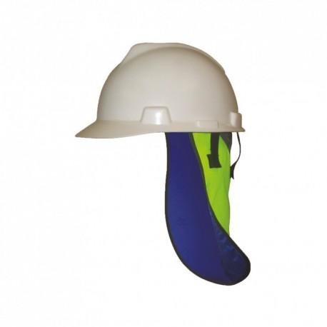 Protège-nuque rafraîchissant pour casque - Haute visibilité