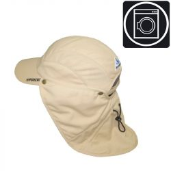 Casquette protège-nuque rafraîchissante et lavable