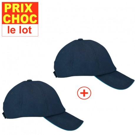 Lot promo 2 casquettes rafraîchissantes Hyperkewl - bleues