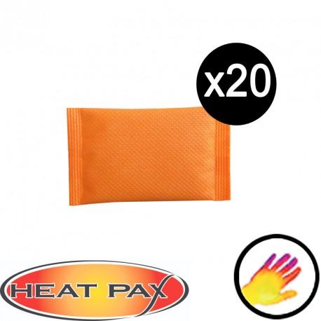 20 Chaufferettes mains Heatpax