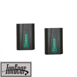 2 Batteries pour gants chauffants