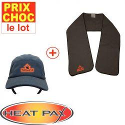 Promo casquette + écharpe réchauffantes