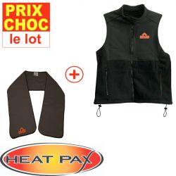 Veste + écharpe réchauffante Heatpax