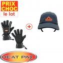 Casquette + gants Sport