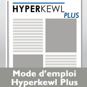 Mode emploi Hyperkewl Plus