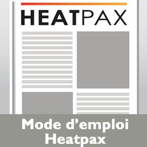 Mode emploi Heatpax