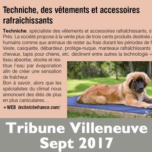 Tribune Villeneuve
